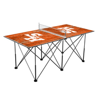 Sam Houston State Pop Up Table Tennis 6ft Weathered Design