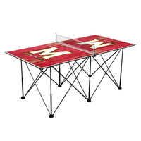 Maryland Terrapins Pop Up Table Tennis 6ft Weathered Design