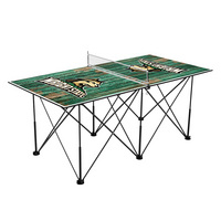 Wright State University Raiders Pop Up Table Tennis 6ft Weathered Design