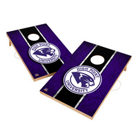 Vintage High Point HPU Panthers VT  Solid Wood 2x3 Cornhole