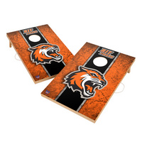 Vintage Rochester Institute of Technology Tigers VT  Solid Wood 2x3 Cornhole