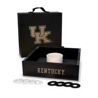 Kentucky Wildcats Washer Game Set Onyx Stained