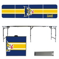 Drexel University Dragons 8 Foot Portable Folding Tailgate Table Stripe Version