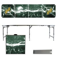 College of William & Mary Lightning 8 Foot Folding Tailgate Table