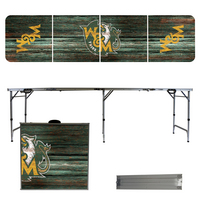 College of William & Mary Weathered 8 Foot Folding Tailgate Table