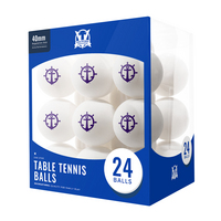 Portland Pilots 24 Count Table Tennis Balls Logo Design