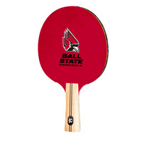 Ball State Cardinals Table Tennis Paddle Logo Design