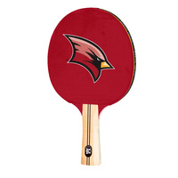 Saginaw Valley State University Cardinals Table Tennis Paddle Logo Design