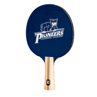 Marietta College Pioneers Table Tennis Paddle Logo Design