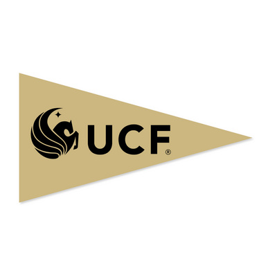 UCF Knights Mini Logo Pennant Magnet from Collegiate Pacific