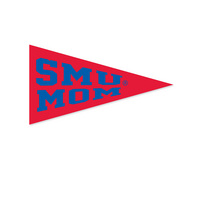 SMU Mustangs Mini Logo Pennant Magnet from Collegiate Pacific