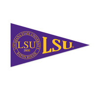 LSU Tigers Mini Logo Pennant Magnet from Collegiate Pacific