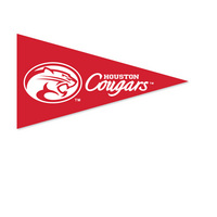 Houston Cougars Mini Logo Pennant Magnet from Collegiate Pacific