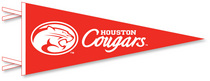 Houston Cougars Pennant from Collegiate Pacific