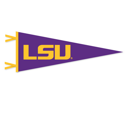 LSU Tigers Pennant from Collegiate Pacific
