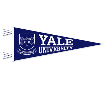 Yale Bulldogs Pennant from Collegiate Pacific