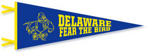 Delaware Blue Hens Pennant from Collegiate Pacific