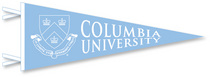 Columbia University Pennant from Collegiate Pacific