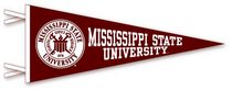 Mississippi State Bulldogs Logo Pennant from Collegiate Pacific