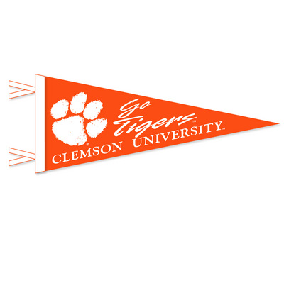 Clemson Tigers Logo Pennant from Collegiate Pacific