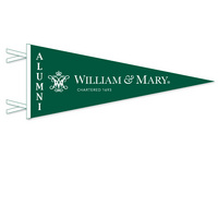 William and Mary Logo Pennant from Collegiate Pacific