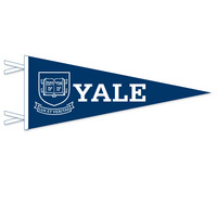 Yale Bulldogs Logo Pennant from Collegiate Pacific