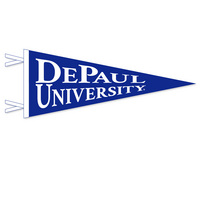 DePaul Logo Pennant from Collegiate Pacific