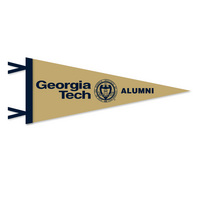 Georgia Tech Logo Pennant from Collegiate Pacific
