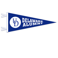 Delaware Blue Hens Logo Pennant from Collegiate Pacific