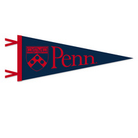 Penn Logo Pennant from Collegiate Pacific