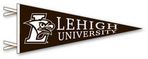 Lehigh Logo Pennant from Collegiate Pacific