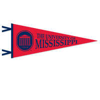 Ole Miss Logo Pennant from Collegiate Pacific