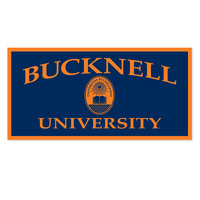 Bucknell Horizontal Logo Banner from Collegiate Pacific