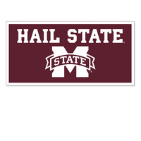 Mississippi State Bulldogs Horizontal Logo Banner from Collegiate Pacific