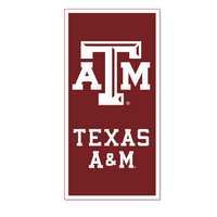 Texas A&M Aggies Vertical Logo Banner from Collegiate Pacific