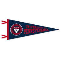 Penn Multi Color Logo Pennant from Collegiate Pacific