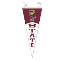 Mississippi State Bulldogs Multi Color Logo Pennant from Collegiate Pacific