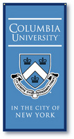 Columbia Lions Vertical Multi Color Logo Banner from Collegiate Pacific