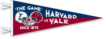 Yale Bulldogs Multi Color Logo Pennant from Collegiate Pacific
