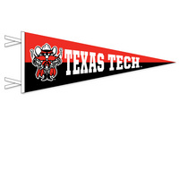 Texas Tech Red Raiders Multi Color Logo Pennant from Collegiate Pacific