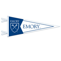 Emory Eagles Multi Color Logo Pennant from Collegiate Pacific