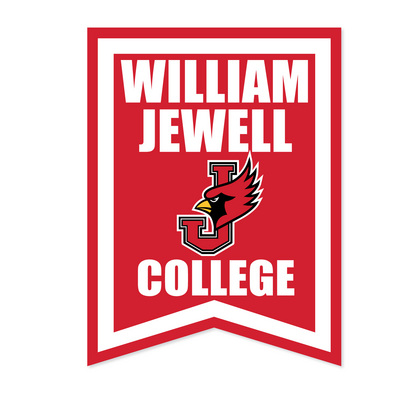 18x24 Multi Color Vertical Dovetail Banner | The William Jewell ...