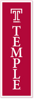 Temple Collegiate Pacific Banner