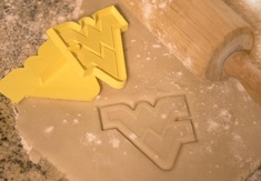WVU Cookie Cutter
