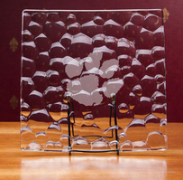 Crystal Nachtman Sphere Square Plate 11 inch(online only)
