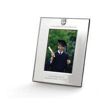 M.LaHart Polished Pewter 5x7 Picture Frame