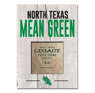 University Of North Texas Bookstore Legacy Athletic 4 X 4 Picture