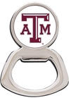 Texas A&M Aggies Silver Tone Bottle Opener Magnet
