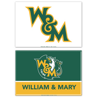 William and Mary Two Pack Rectangular Magnets from Wincraft