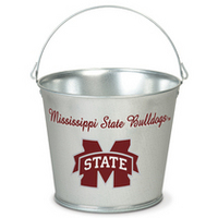 Mississippi State Bulldogs Galvanized Pail from Wincraft